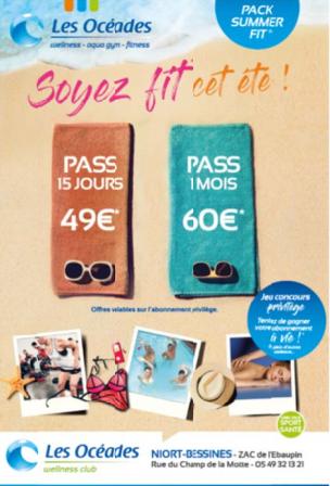 Carte Cezam Niort.Newsletter Septembre 2017