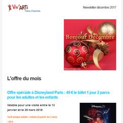 Dernière Newsletter Viv'ARTi
